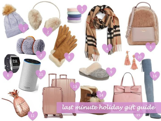 last minute holiday shopping – Jasmine Elias