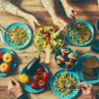 Eating Around the Dinner Table: Tips from a Family Clinic
