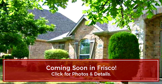 COMING SOON! 2478 Brazos Drive, Frisco, TX - presented by Smith & Smith Realty