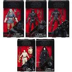 Star Wars Rogue One Black Series Rey, Kylo Ren, Jyn Erso, K-2SO, Capt. Cassian & Death Trooper Set of 6 Action Figures (Sealed Case)