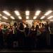 Hora punta metro de Santiago