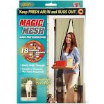 Magic Mesh Mm011124 Magnetic Hands-free Screen Door, As Seen On Tv