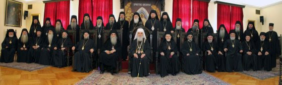Αποτέλεσμα εικόνας για Holy Assembly of Bishops of the Serbian Orthodox Church