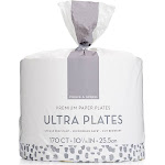 Prince & Spring 170-Ct. 10'' Ultra Plates Pack One-Size