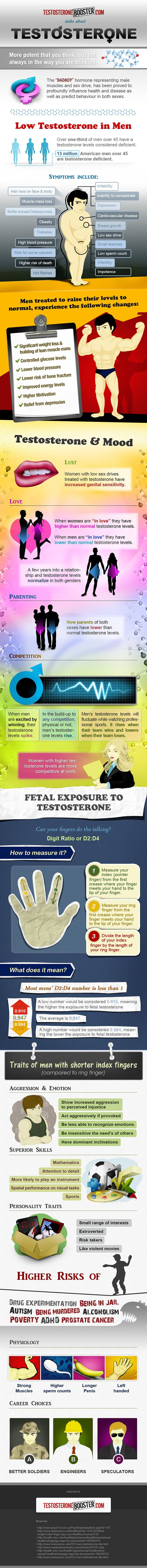 Testosterone: Potent But Not A