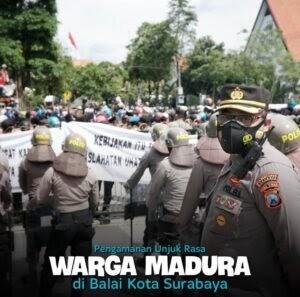 Tegas! Kapolrestabes Surabaya Minta Peserta Unras Terapkan Protokol Kesehatan