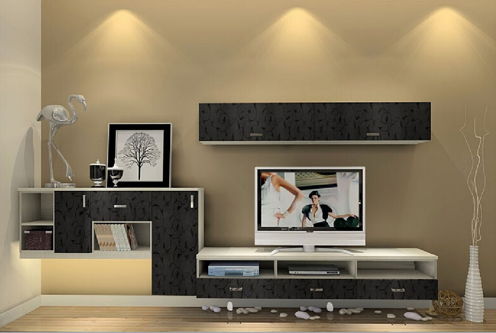 modern lcd tv unit design idea id1020