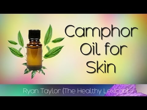 Camphor Oil: for Skin (Karpur)