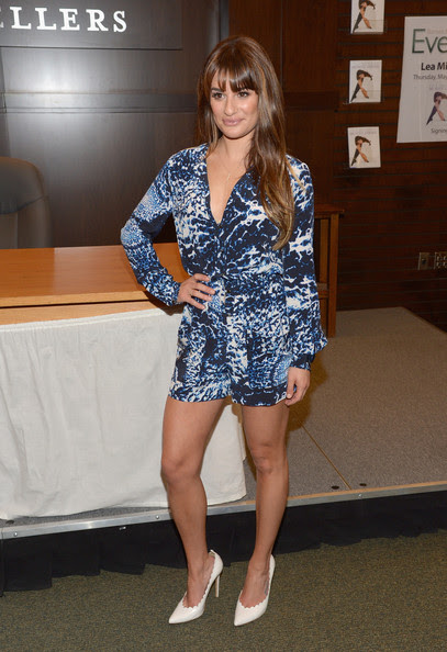 Lea Michele - Lea Michele Signs Copies of Her New Book