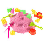 Trademark 80-TK098270 2 lbs Moldable Kinetic Play Activity Set Pink