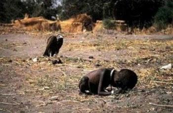 A fotografia que valeu o Pulitzer a Kevin Carter em 1994