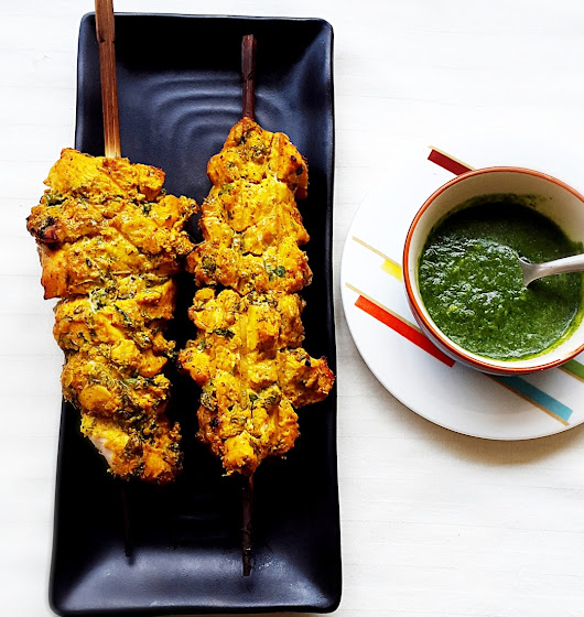 Chicken Reshmi Kabab Recipe - My Indian Taste