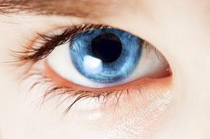 Photograph of an eye