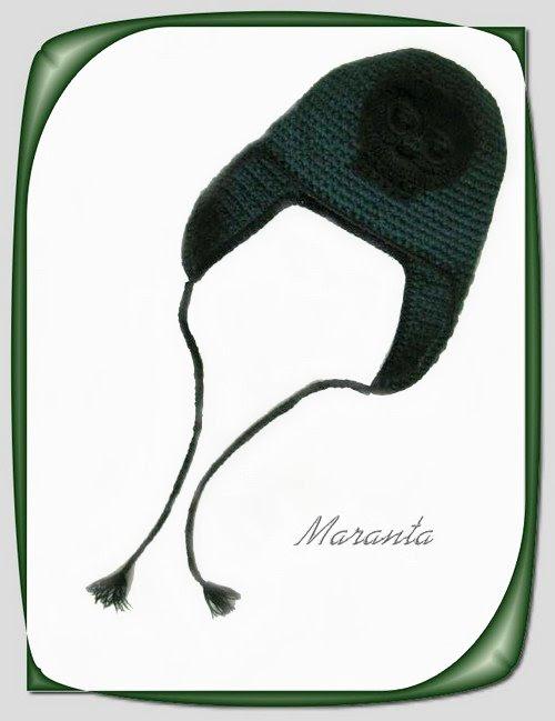 czapka szydełkowa
