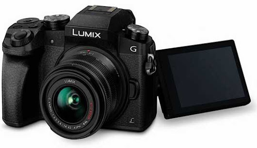 Panasonic Lumix G7 with 16MP and 4K video recording Launched