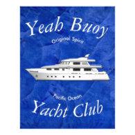 Yacht Club Yeah Buoy Custom Letterhead