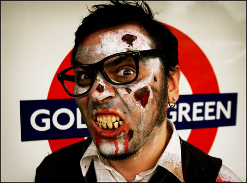 Golders Green Zombie by Andrew :-)