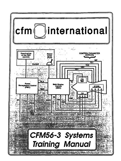 Cfm56-3 Systems Training Manuals | Pump | Space Shuttle
