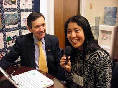 Dennis Kucinich & Yumi JPG