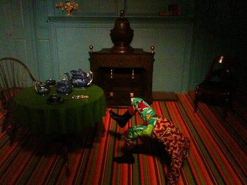 Yinka Shonibare show, Brooklyn Museum