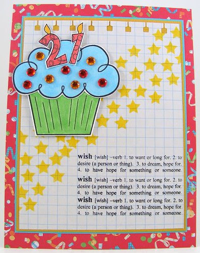 SOL April Wish Definition Card