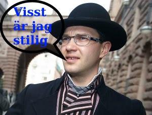 Helyllesvensken Jimmie Åkesson