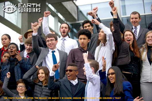 Youth Climate Change Lawsuit Upheld!