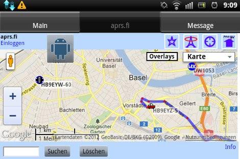 U2APRS Android APRS Tracker