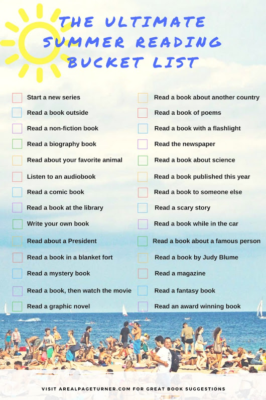 The Ultimate Summer Reading Bucket List | A Real Page Turner