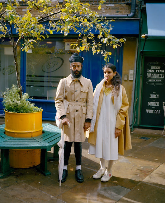 Here and Now: Colourful London street portraits by Niall McDiarmid