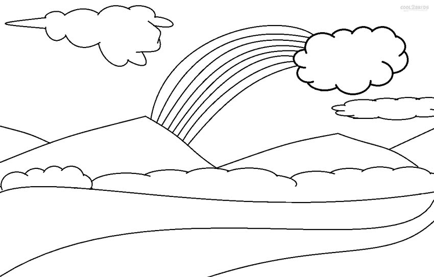 Banana Bunch Coloring Page. home clouds the sun is shy and hide ...   543x850