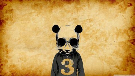 crazy panda full hd  hd desktop wallpaper   ultra