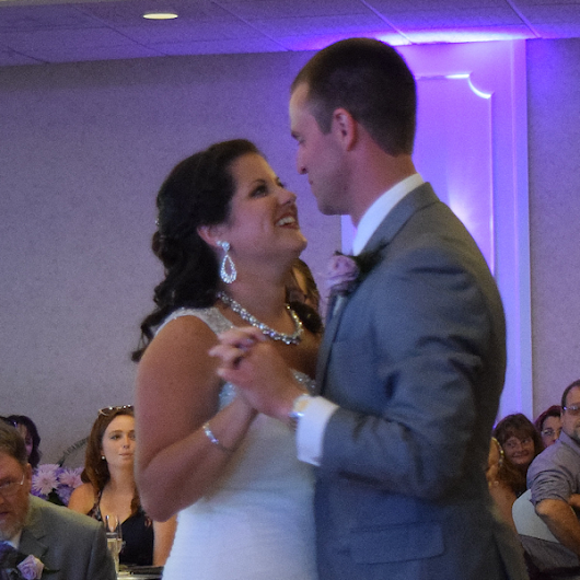 Wedding: Julie and Brandon at Justin's Tuscan Grill, East Syracuse, 7/8/17 | Syracuse Wedding DJ | Peter Naughton Productions