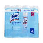 Lysol Disinfectant Spray - 4 x 19 oz