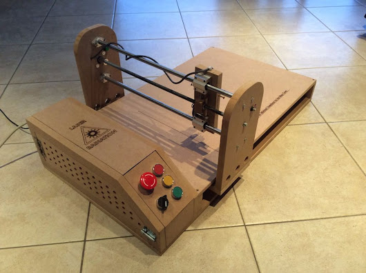 An Arduino-Powered Laser Engraver That You Can Build | Make: