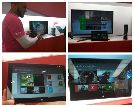 Microsoft Surface Tablet Xbox SmartGlass App