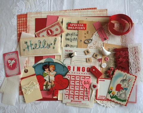 Vintage Valentine Kit