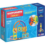 Magformers 63205 61-Piece Magnets in Motion Gear Set