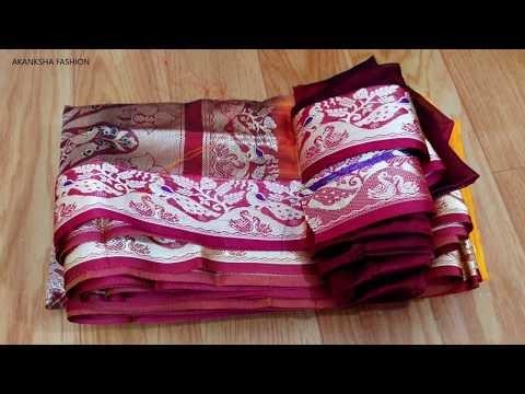 Paithani saree blouse back neck design|cutting and stitching back neck