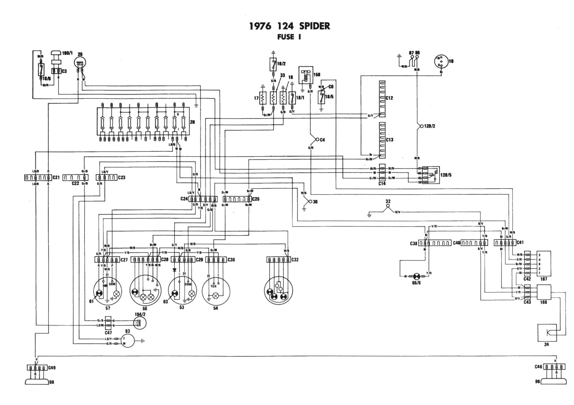 1979 Fiat Spider Wiring Wiring Diagram Visual Visual Cfcarsnoleggio It