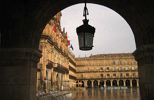 Plaza Mayor de Salamanca,