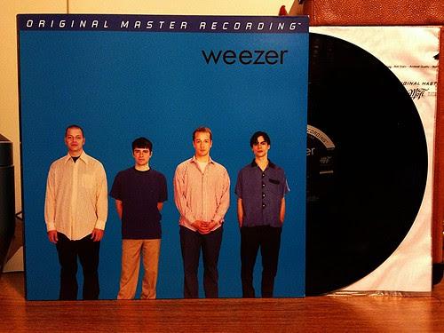 Weezer - The Blue Album - Mobile Fidelity Sound Lab LP by Tim PopKid