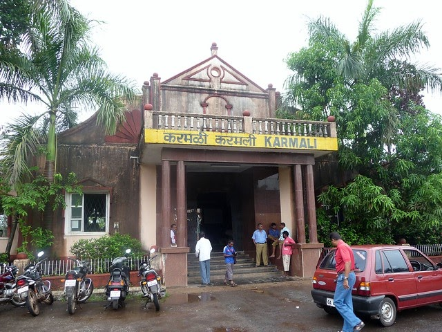 JoeGoaUk - GOA: Karmali Railway Station, Goa