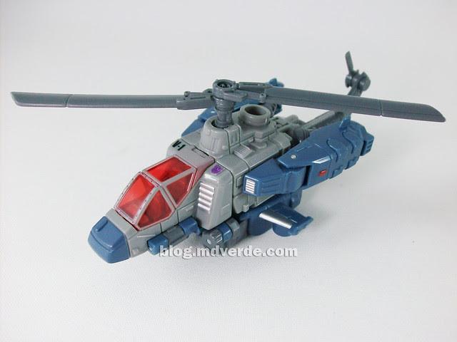 Transformers Vortex Universe Scout - modo alterno