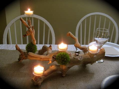 DIY Grapewood and Grass Centerpieces   Elizabeth Anne