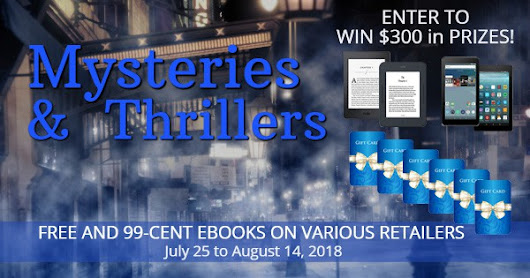 Mysteries & Thrillers Mega Giveaway Jul 25-Aug 14