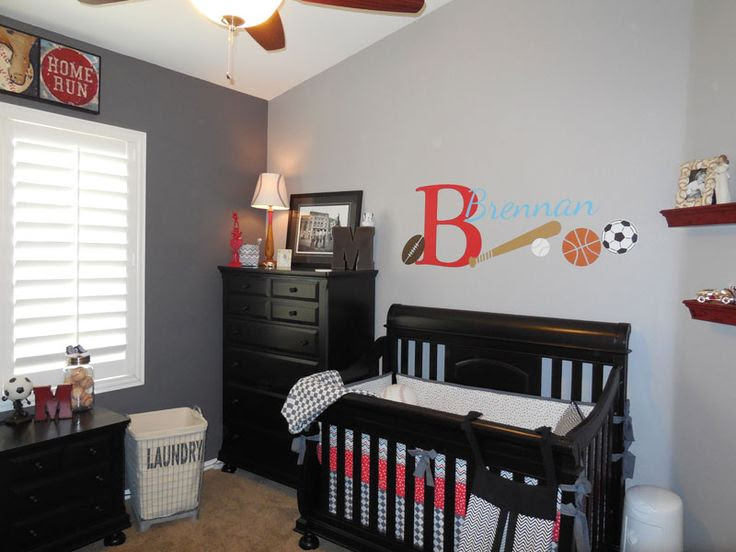 Baby Boy Sports Nursery Ideas