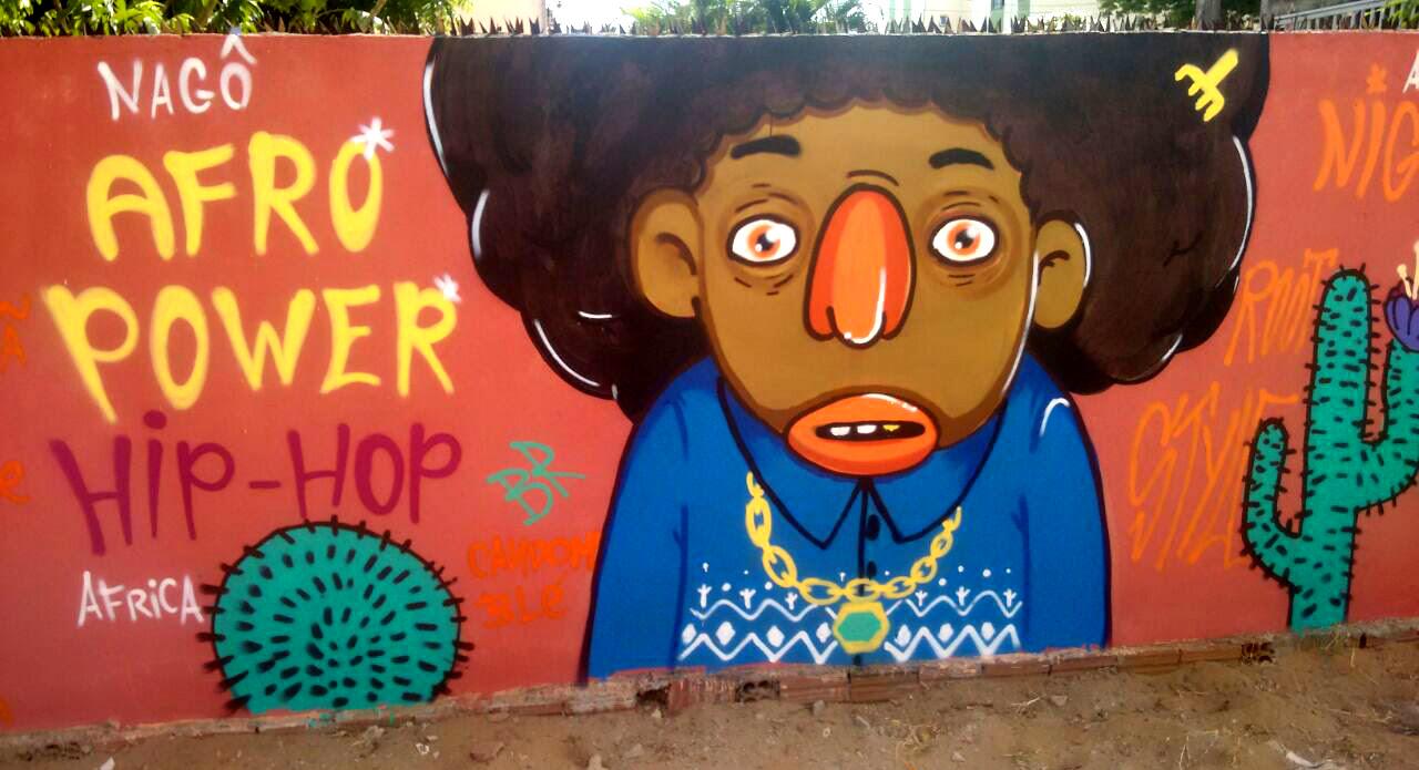 Valorizar e viabilizar a arte de rua são os objetivos do coletivo