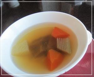 マンダリンオリエンタル東京「SENSE」にて、滋養たっぷり的広東スープ。