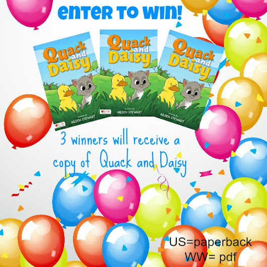Quack and Daisy Children's Book Review and Giveaway